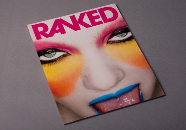 RANKED Magazine #branding #print #poster #art #music #layout #typography