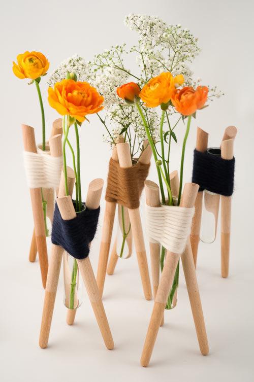 Forget Me Not Vases by Aurélie Richard Photo #vase