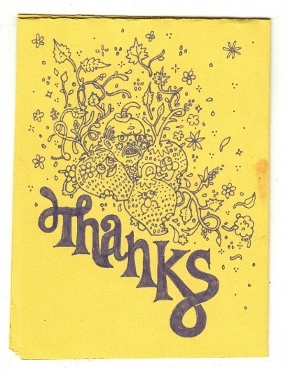 All sizes | thanks | Flickr - Photo Sharing! #thanks #yellow #strawberries #pettis #jeremy #typography