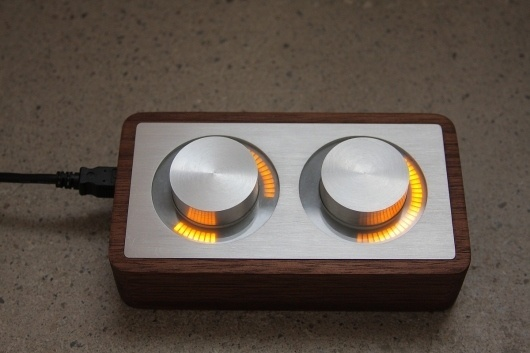 arc-front.jpg 1200×800 pixels #controller #arc #design #wood #machined #metal #led #electronic