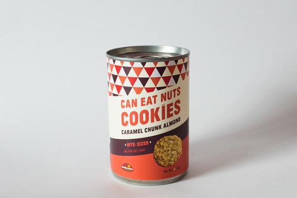 Nuts: Cookie Packaging by Lim Xin Yu