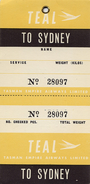sydneyFlickr Photo Sharing #numerals #sydney #gothic #airline #ticket #typography