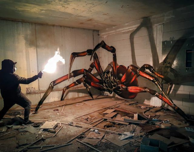 Mind Blowing Street Art by Odeith 4