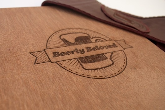 Beerly Beloved on the Behance Network #beer #bitches #book