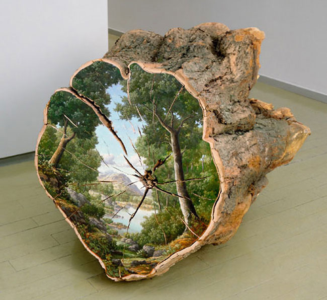 Artist Alison Moritsugu captures the essence of Mother Nature #tree