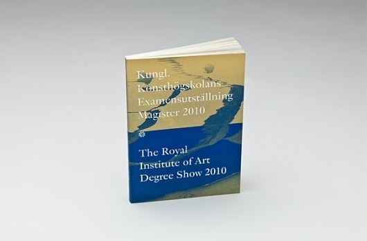 The Swedish Royal Institute of Art Degree Show Catalogue - FPO: For Print Only #technique #print #iris #covers #unique #metallic