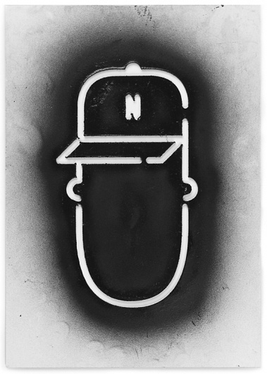 Stencil Nokia N9 Show yourself on the Behance Network #stencils #shirt