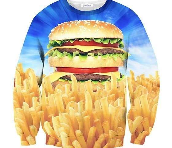 Holy Burger Sweater #fancy #burger #funny #cool