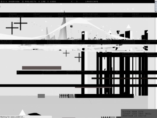 glitch.js by @d_effekt and @underdoeg - glitch simulator for your site #javascript #code #download | CreativeApplications.Net