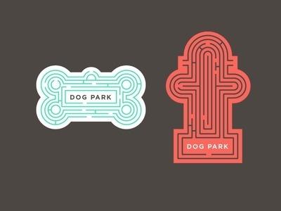 Bark Park #park #maze #dog