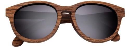 Shwood | Wood Sunglasses | Oswald | Zebrawood #glasses #zebrawood #sunglasses #wood #shwood #oswald #grey