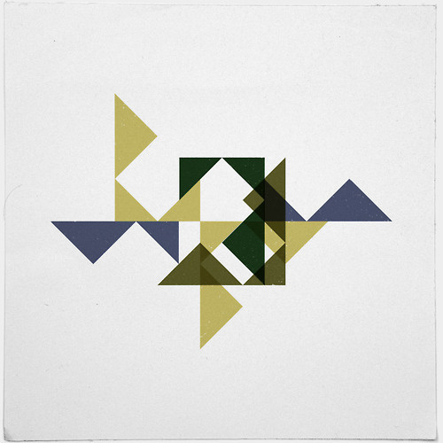 #228 Citadel – This is a remix of #225, same colors and shapes, differently arranged. – A new minimal geometric composition each day