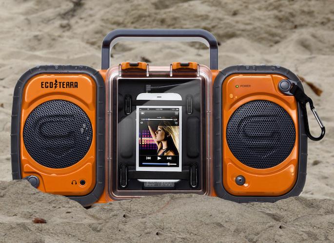 Eco Terra Waterproof Boombox #tech #flow #gadget #gift #ideas #cool