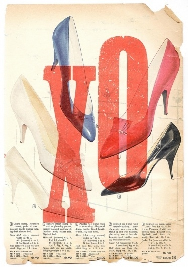 All sizes | Pumps | Flickr - Photo Sharing! #old #shoes #multiply #design #vintage #heels #high #typography