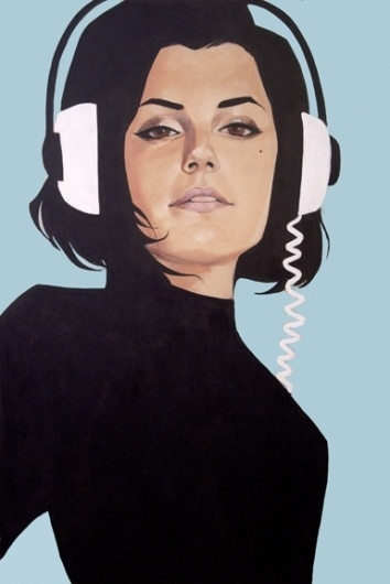 supersonic electronic / art #women #noto #phil #illustraion