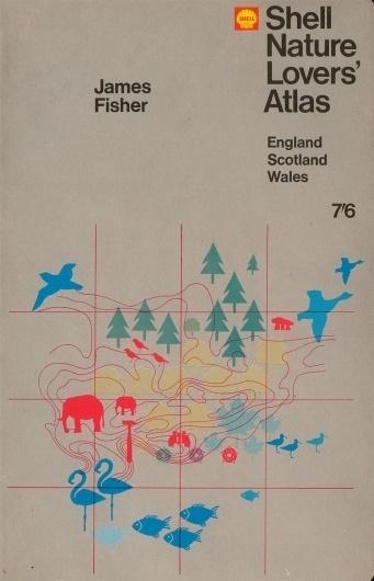 Shell-Nature-Lovers-Atlas.jpg (image) #book #cover #grid #illustration #nature