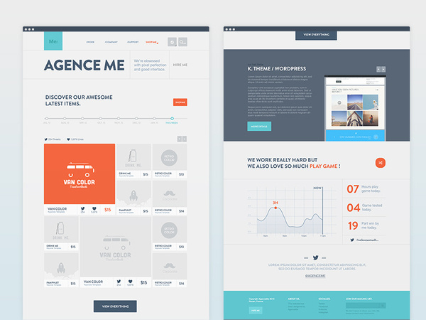 Home AgenceMe #website
