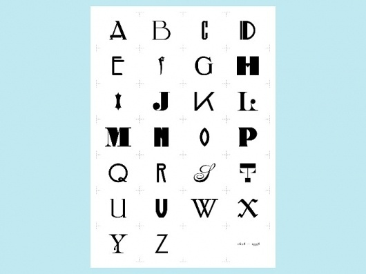 Neal Fletcher — Portfolio #type #history #poster #typography