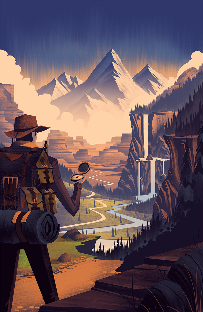 2014 LabelExpo Americas Brian Edward Miller #miller #adventure #illustration #brian #edward