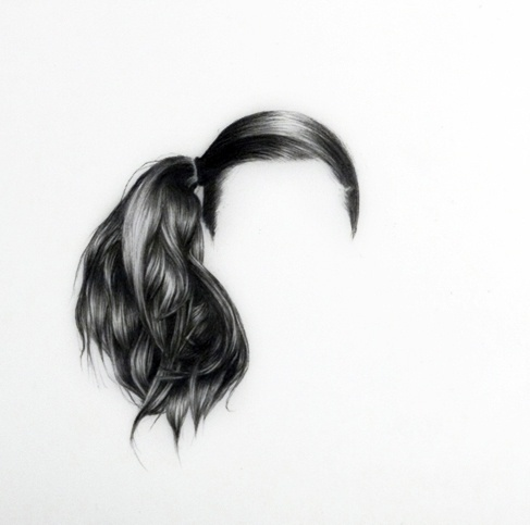 Hair Illustration by Langdon Graveslangdon - Fubiz #illustration