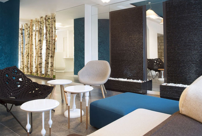 Colorful and Trendy Parisian Hotel Decor