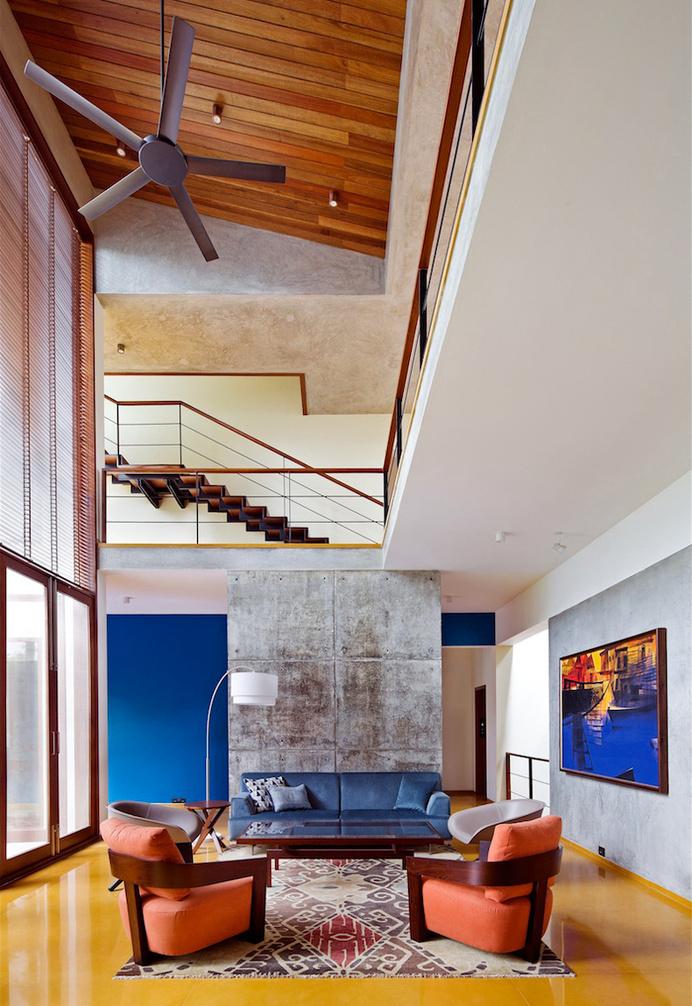 Bhuwalka House by Khosla Associates - www.homeworlddesign. com (1) #design #architecture