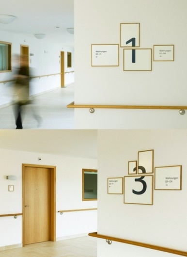signage for the home for the elderly in Hottingen,...