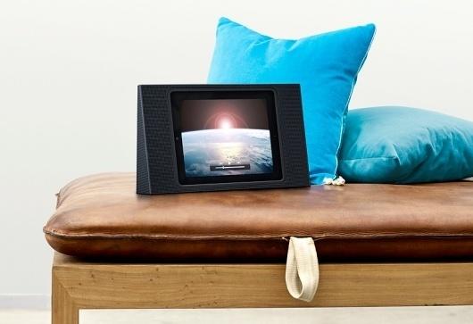 beoplay A3 iPad speaker dock by bang & olufsen #ipad