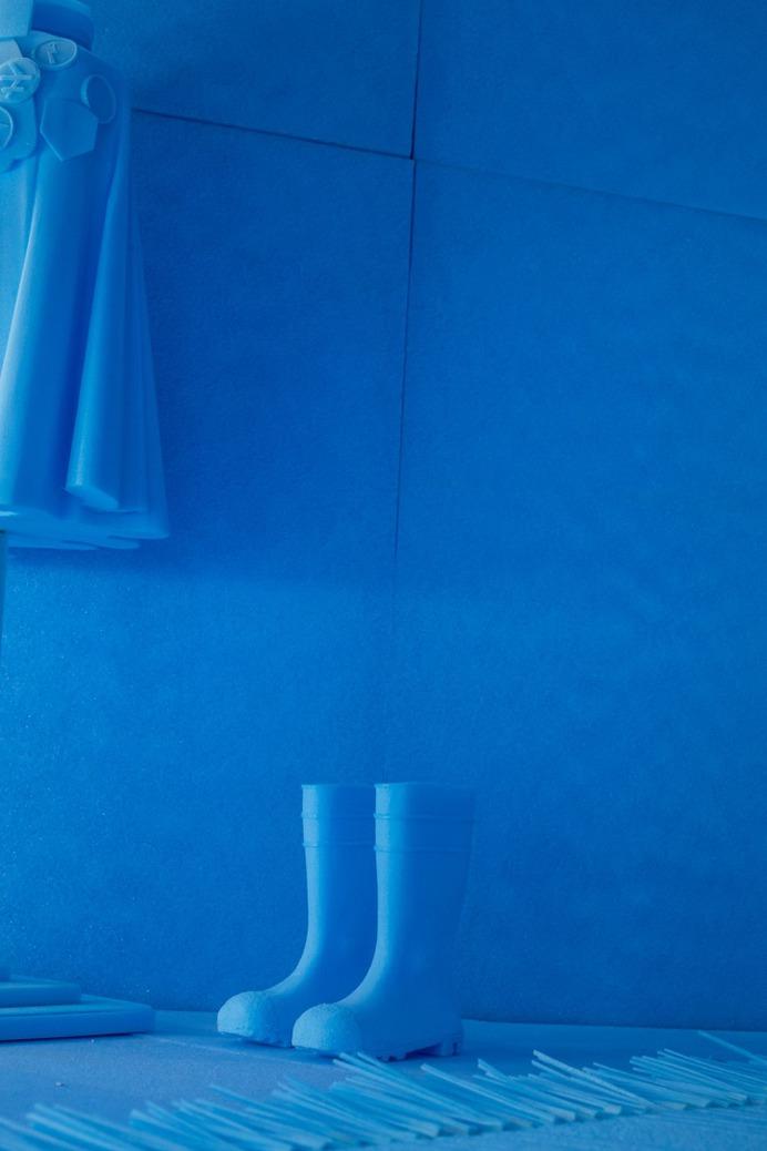 Studio Makkink & Bey, Het Nieuwe Instituut initieert presentatie op eerste editie London Design Biennale 2016 | Het Nieuwe Instituut #interior #blue #design #studiomakkinkenbey #art
