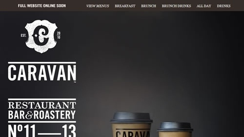 Showcase Of Delicious Coffee Websites | Smashing Magazine #coffee #design #web #typography