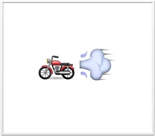 Best Motorcycle Emoji Apple Small Icon Images On