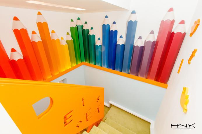 Dental clinic for children with a gorgeous design Dent Estet 4 Kids - Hamid Nicola Katrib - www.homeworlddesign. com (13) #design #interiors #clinic #dental #kids