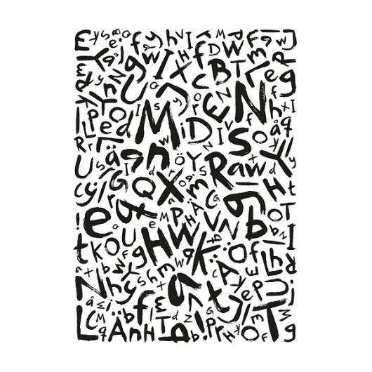 Sammelsurium – Typeface on Typography Served #illustration #typeface #typography