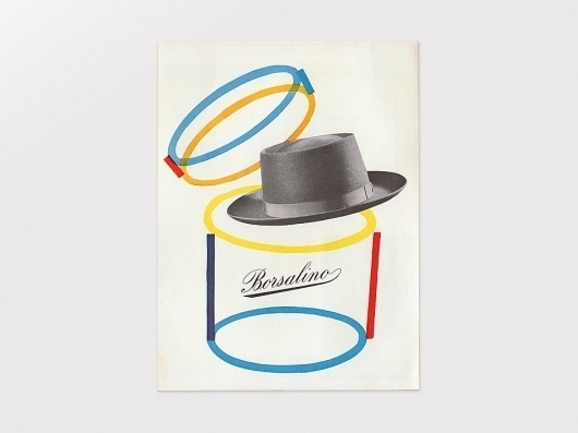 Display | Borsalino Advertisement | Collection #borsalino
