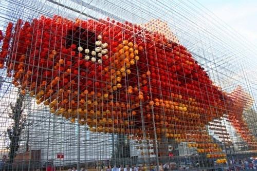 Flower sculptures #flower #design #holland #sculpture