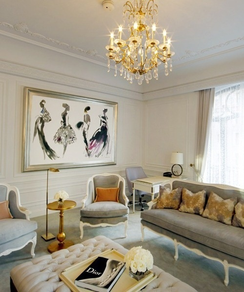 The Dior Suite at the St. Regis Hotel