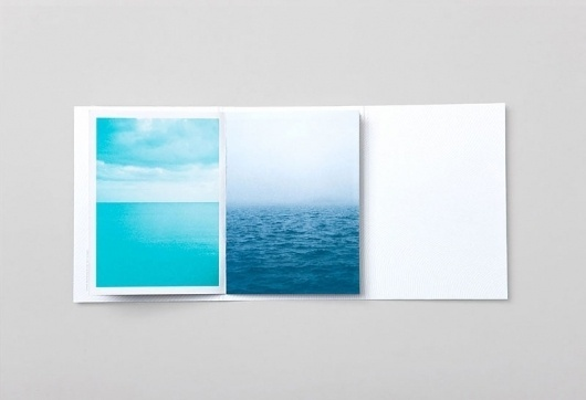 Graphic-ExchanGE - a selection of graphic projects #blue #print #sea #paper