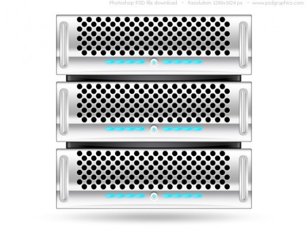 Silver rack server, psd web icon Free Psd. See more inspiration related to Icon, Icons, Web, Silver, Server, Psd, Web icons, Computers, Horizontal, Objects, Rack and Isolated on Freepik.