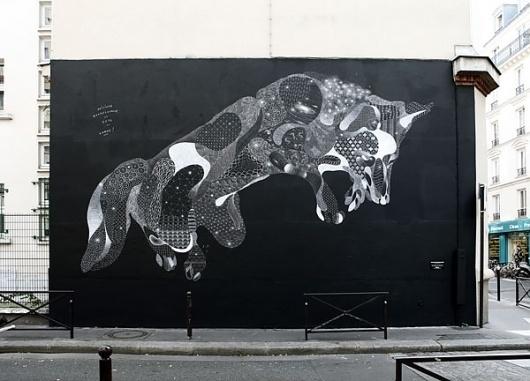 IdN™ Creators® — Philippe Baudelocque (Paris, France) #fox #mural #art #street