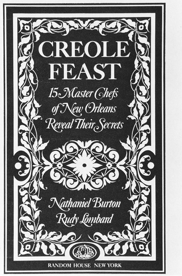 Creole Feast #flourish #pattern #book #cover #border #typography