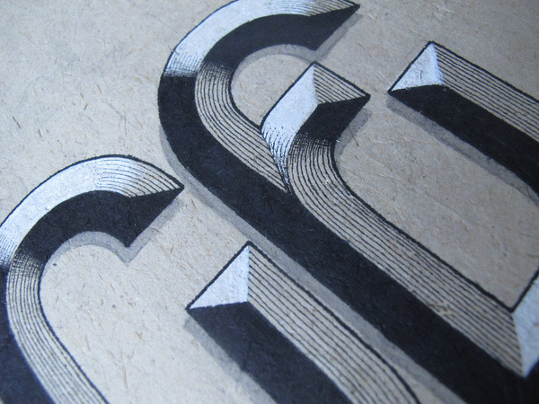 Great shapes #lettering #texture #typography