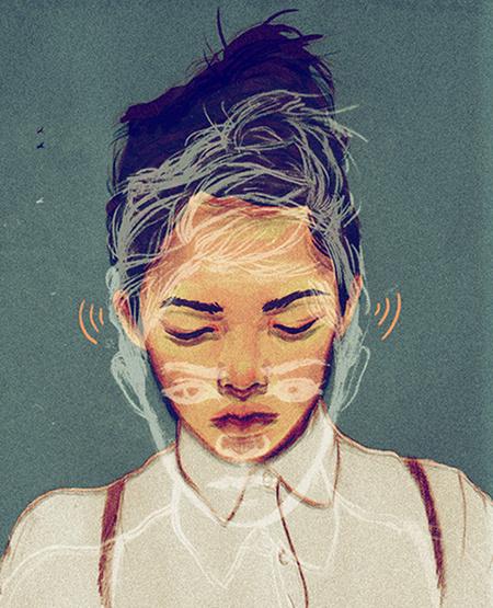 Sarah Gonzales #inspiration #illustration #portrait