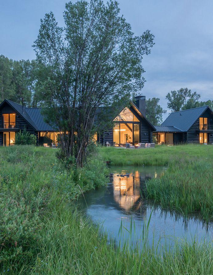 Fishing Cabin | Carney Logan Burke Architecture Firm & Design Studio - WY MT