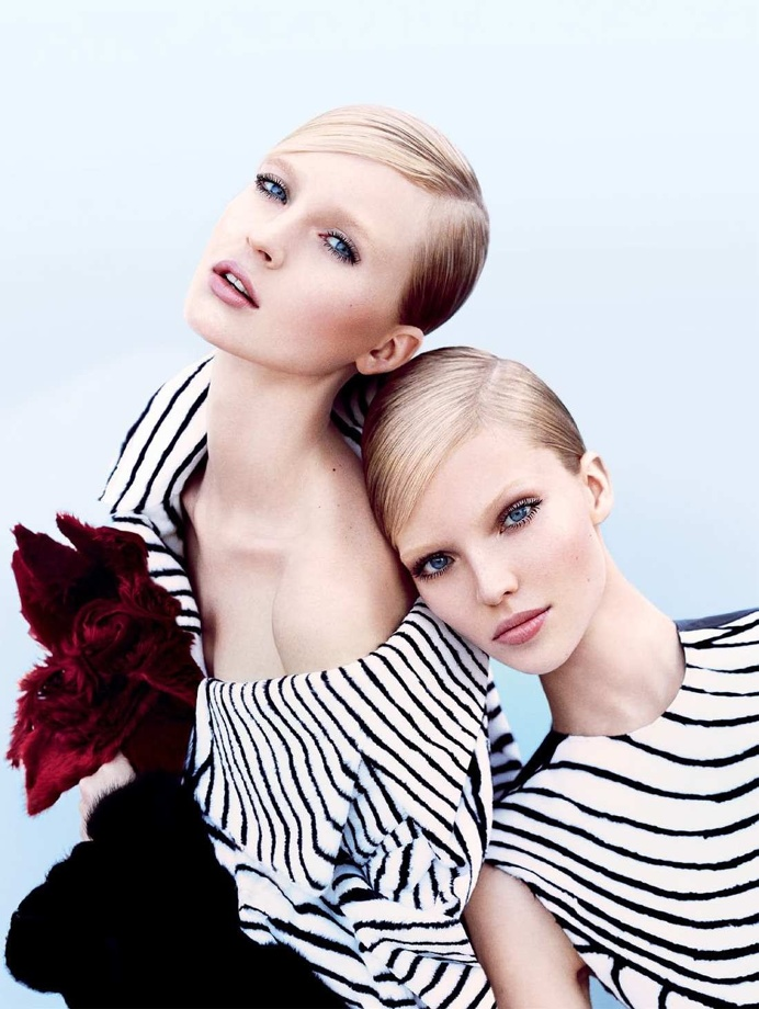 Nastya Sten and Sasha Luss by Txema Yeste