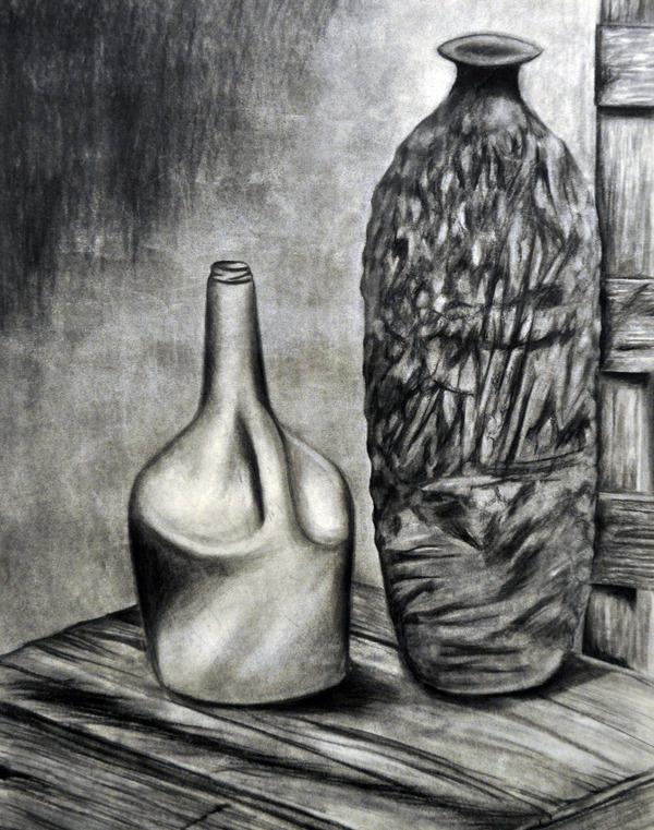 Alex Felter #jug #charcoal #drawing #art
