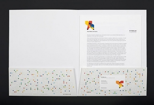 MIT Media Lab, Full of Squares - Brand New #identity