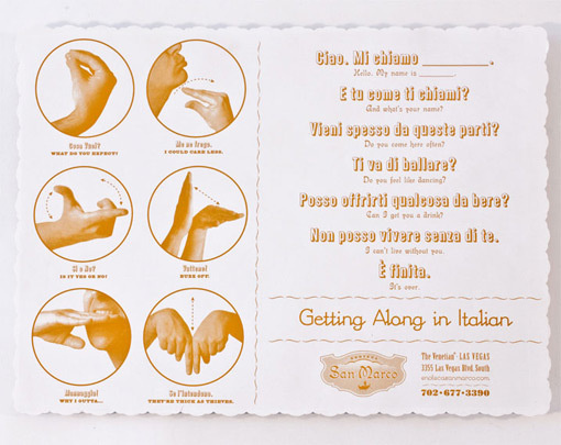 san marco - memo ny #italian #menu #whatsamattaforyou