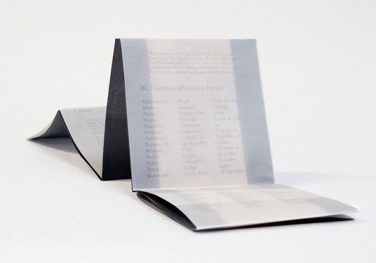 Michelle Sukle - New York, New York - Hunger Monument #monument #hunger #print #book #vellum #type #activism