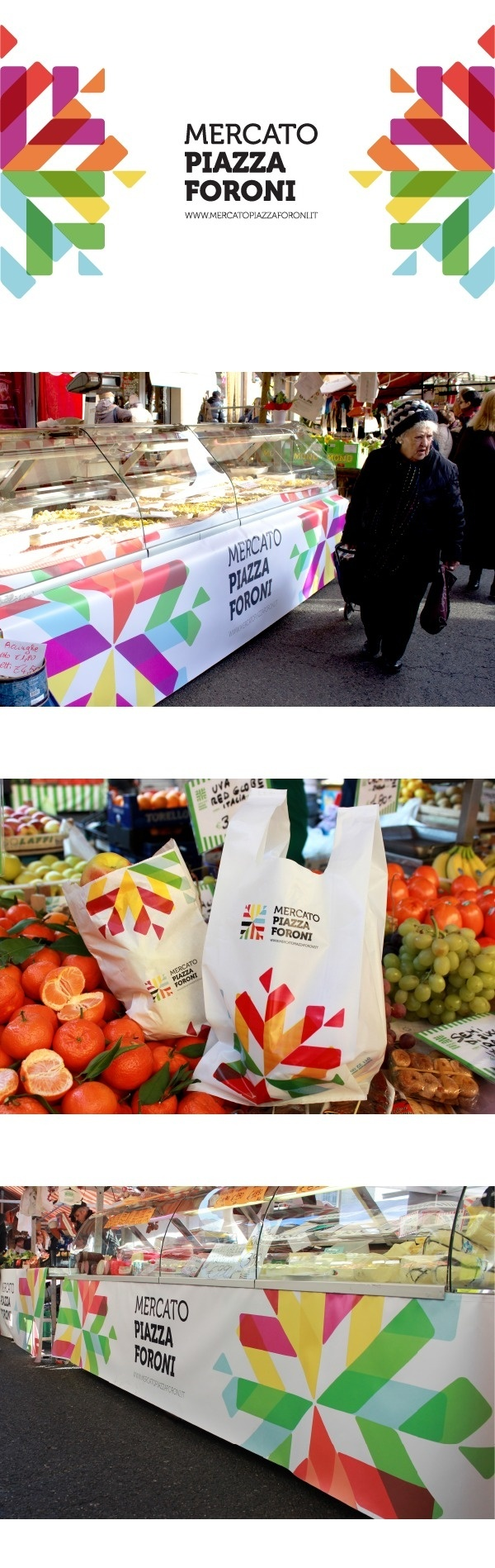Mercato Piazza Foroni on Branding Served #color #branding