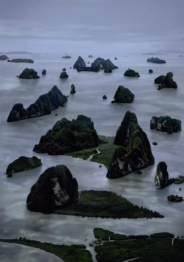 James Bond Island II, Andreas Gursky #islands #gursky #photography #landscapes #minimal #sea #nature